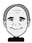 75歳男性顔イラスト